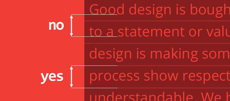 В CSS, the line-height - это не расстояние между двумя базовыми линиями